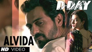 ALVIDA D-DAY VIDEO SONG | RISHI KAPOOR, IRRFAN KHAN, ARJUN RAMPAL