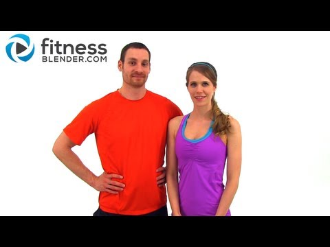 Fitness Blender PFT Physical Fitness Test