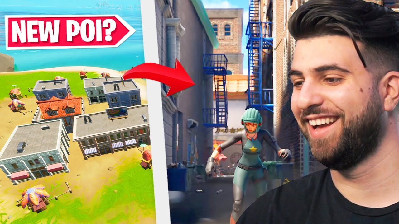 Is Epic Hinting an Upcoming POI in the Cars Update? - Fortnite Season 3