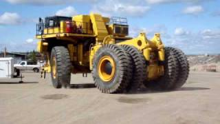 New Komatsu 830E Dump Truck build at Copper Mountain Mine in Princeton, BC