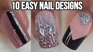 Download 10 EASY NAIL IDEAS! NAIL ART COMPILATION Mp3 and Videos