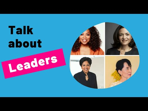 IELTS Speaking Practice - Live Lessons on the topic of LEADERS