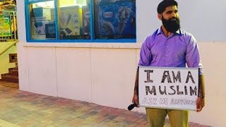 I AM A MUSLIM ASK ME ANYTHING? - MUSLIM DEFENDS ISLAM ACROSS AMERICA
