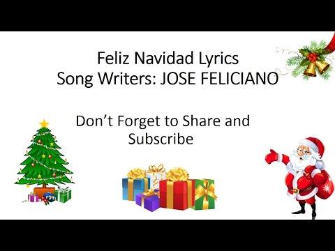 [Feliz Navidad] Lyrics, Jose Feliciano HQ Song