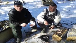 Зимняя-Весеняя рыбалка п.Цингалы 02.04.2016 Бездорожье, изба, много щуки!