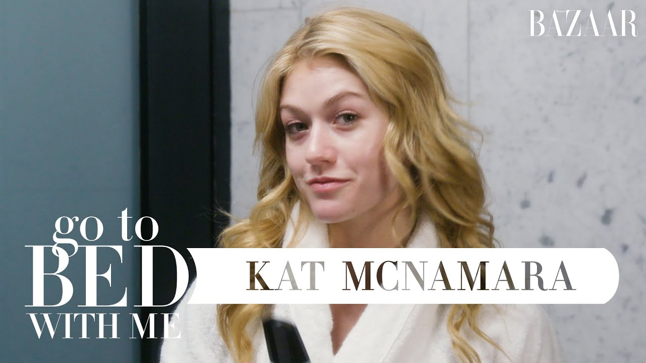 Shadowhunters' Kat McNamara's Nighttime Skincare Routine | Go To Bed With Me | Harper's BAZAAR