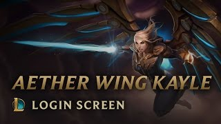 Aether Wing Kayle - Login Screen