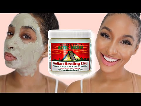 I Used The Aztec Healing Clay Mask On My Skin For 1 Year Straight| FLAWLESS SKIN ROUTINE