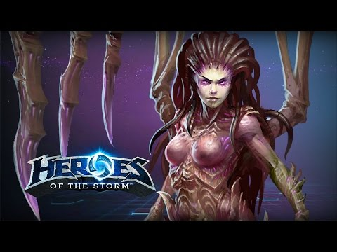 ♥ Heroes of the Storm (Gameplay) - Kerrigan, I LIKE TO HAVE FUN FUN FUN FUN FUN FUN FUN FUN FUN FUN