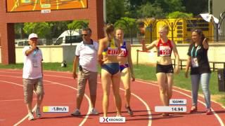 23 07 2017 HIGHLIGHTS Women   100 m Hurdles   Heptathlon DEAFLYMPICS 2017