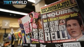 US tabloid National Enquirer up for sale