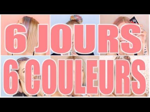 ❥ JE CHANGE 6 FOIS DE COULEURS 😱