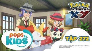 Pokémon Tập 272 -  Nhánh Cây Gãy, Trái Tim Vỡ!  - Hoạt Hình Pokémon Tiếng Việt  S18 XY