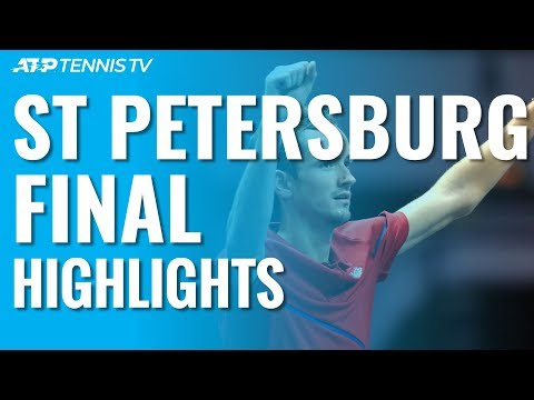Medvedev Beats Coric To Win Sixth Career Title! | St Petersburg 2019 Final Highlights