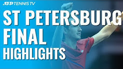 Medvedev Beats Coric To Win Sixth Career Title!   St Petersburg 2019 Final Highlights