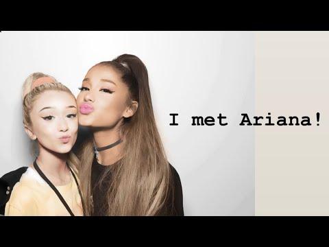Emery Bingham meets Ariana Grande sweetener/ thank u, next tour VIP