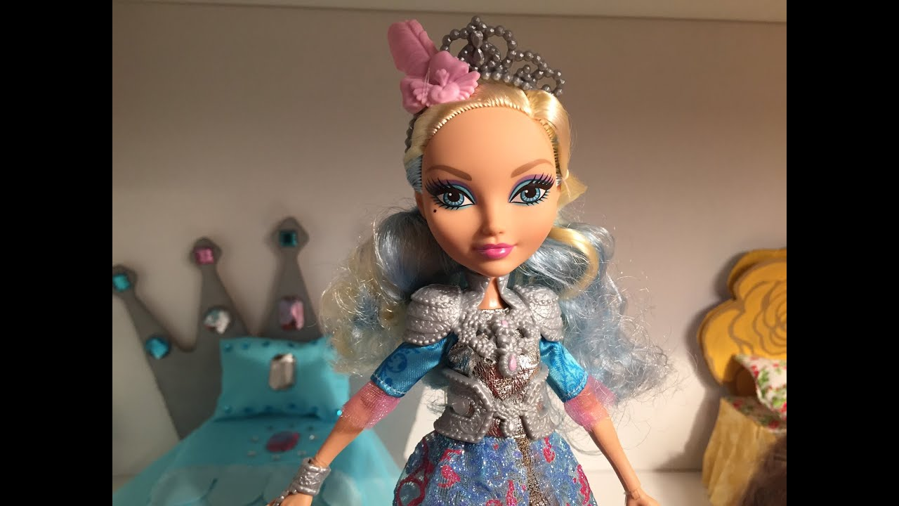 Darling Charming Doll Review EVER AFTER HIGH YouTube