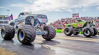 Street Outlaws Farmtruck POWER SCARE vs MONSTER TRUCK!