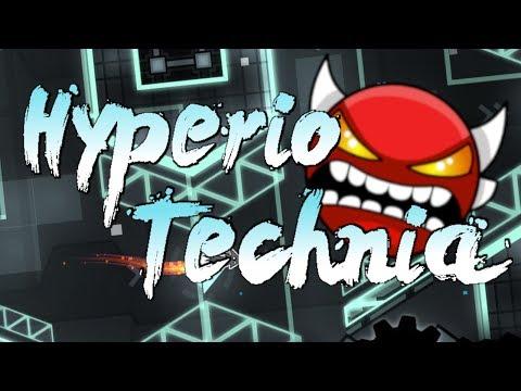 Hyperio Technia by ML500 and More   Insane Demon   100%   75hz   Geometry Dash 2.1