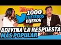 Salma Hayek y Eugenio Derbez juegan: 1000 TUITEROS DIJERON