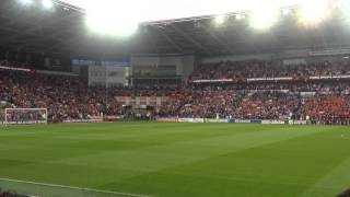 welsh national anthem wales v belgium cardiff city stadium hen wlad fy nhadau