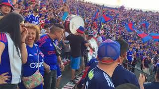 Entrada de La Banda de la Chile / U. De Chile vs San Luis