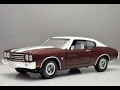 Review Chevrolet Chevelle SS 1970 1:18 Ertl/Auto World