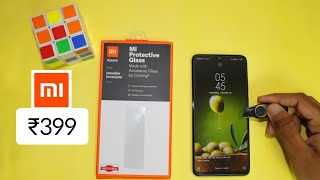 Mi Glass Guard Unboxing And Reviews,Full Installation Process ,Price ?, #miglassguard