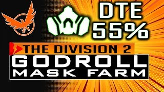 Division 2 HOW TO FARM GOD ROLL MASK DTE 55% Damage to Elites