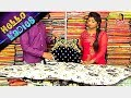 Gorgeous Dresses : Crop Top Style Pure Silk and Designer Wears || Hello Ladies || Vanitha TV