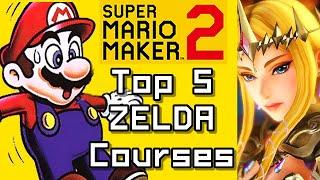 Super Mario Maker 2 Top 5 ZELDA Courses (Switch)