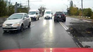 Маразм в организации дорожного движения (собственная база, Кривой Рог)