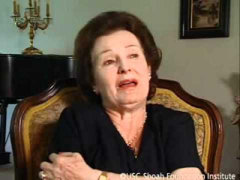 Holocaust Survivor Esther Stern Testimony
