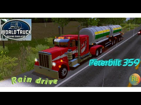 World truck driving simulator #6 (peterbilt 359) - RUDY 009
