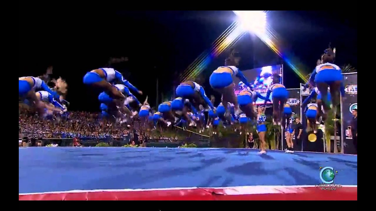 The Stingray All Stars - Orange [2014 Senior Large Finals] MultiCam