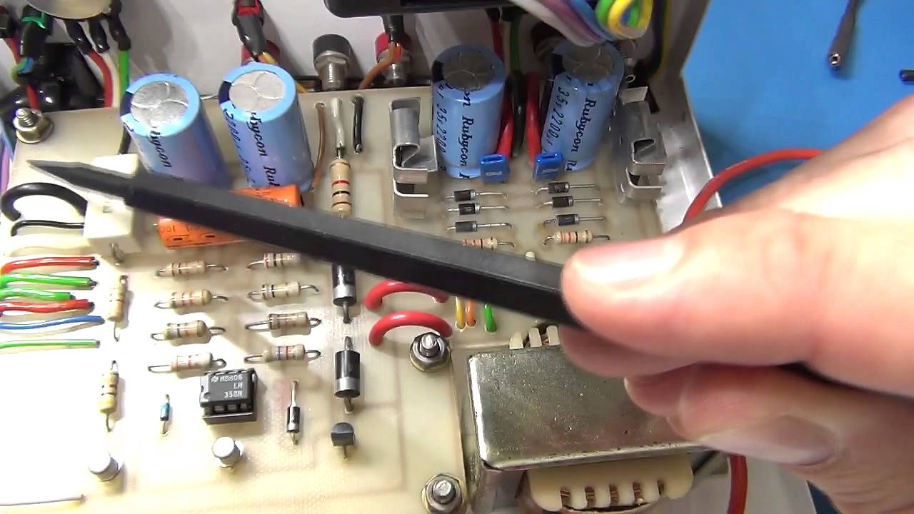 DIY Bench Power Supply #2 - Initial Circuit draft and parts - YouTube