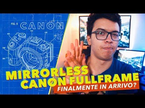 È questa la MIRRORLESS FULLFRAME di CANON?! • #NEWS