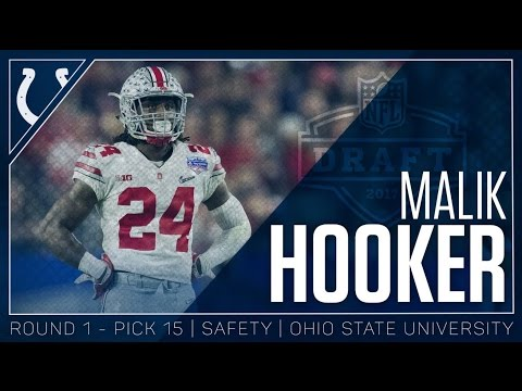 Malik Hooker Welcome to the Colts 2017