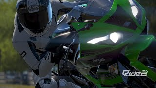 Nyobain Kawasaki Zx10r - Ride 2 Online Funny/Fails Moments