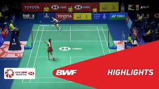 Video TOYOTA Thailand Open 2018 | Badminton WS - SF - Highlights | BWF 2018 download MP3, 3GP, MP4, WEBM, AVI, FLV Juli 2018