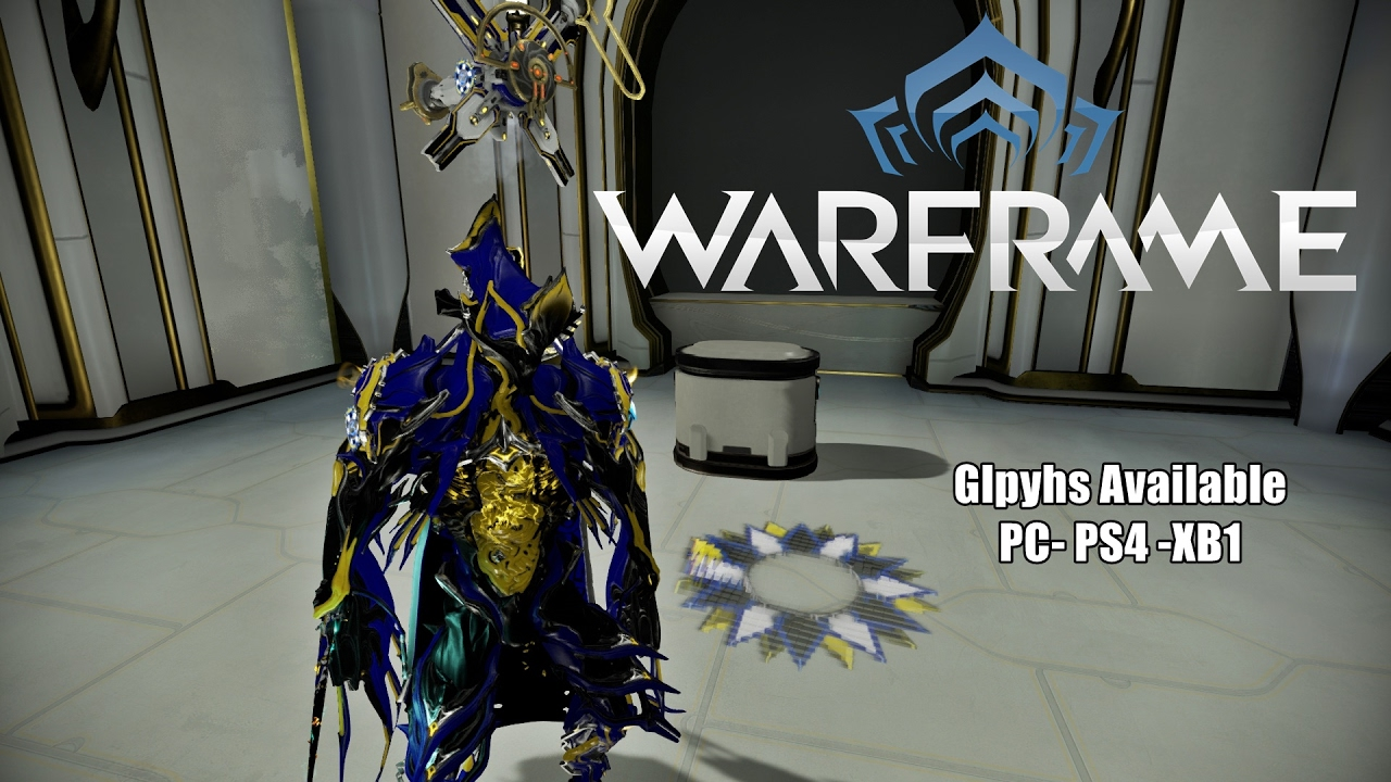 warframe how to get youtuber glyph