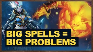 Big Spells = Big Problems For Opponent | The Witchwood Hearthstone
