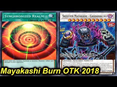 【YGOPRO】MAYAKASHI BURN OTK DECK 2018