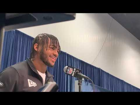 Georgia RB D'Andre Swift Interview At 2020 NFL Combine