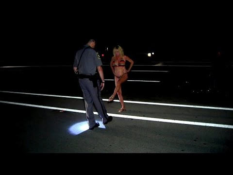 Watch this Grandma in a Bikini Fail Every Sobriety Test Cops Give Her