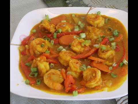 Chinese Shrimp Curry Recipe