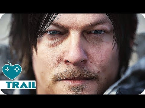 Death Stranding All Trailers (2018) Norman Reedus, Mads Mikkelsen PS4 Game