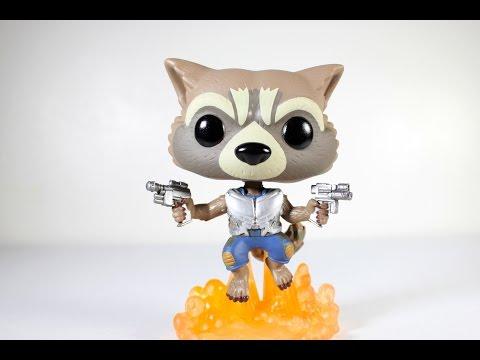 Guardians of the Galaxy Vol. 2 ROCKET RACCOON Funko Pop review