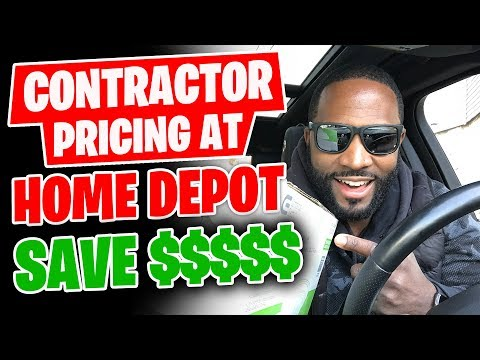 How To Get Contractor Pricing At Home Depot