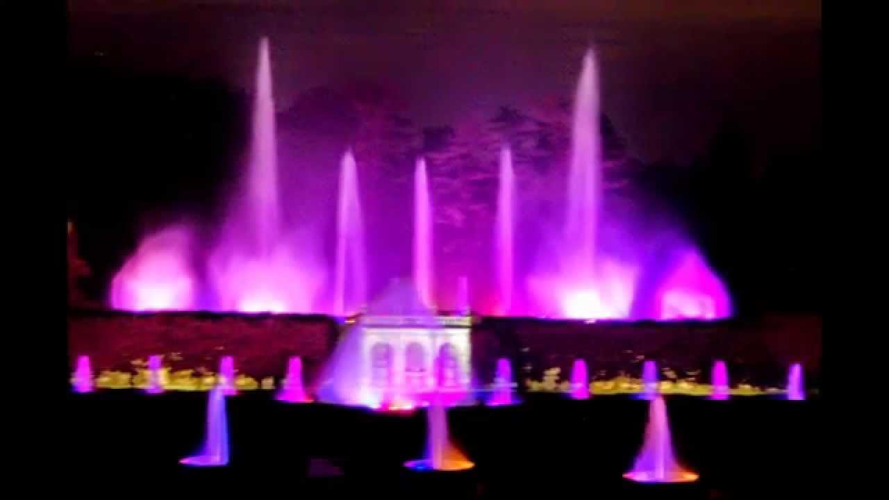 longwood gardens light and fountain show august 2014 youtube - Longwood Gardens Christmas Lights